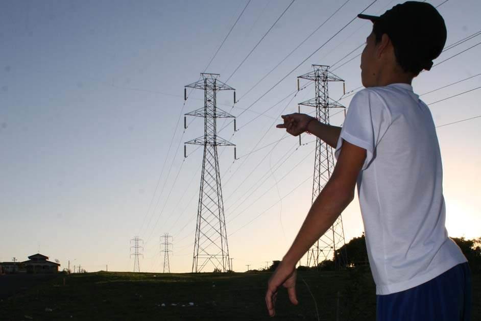 Interrupções no fornecimento de energia por causa de pipas quadruplicam na RPT