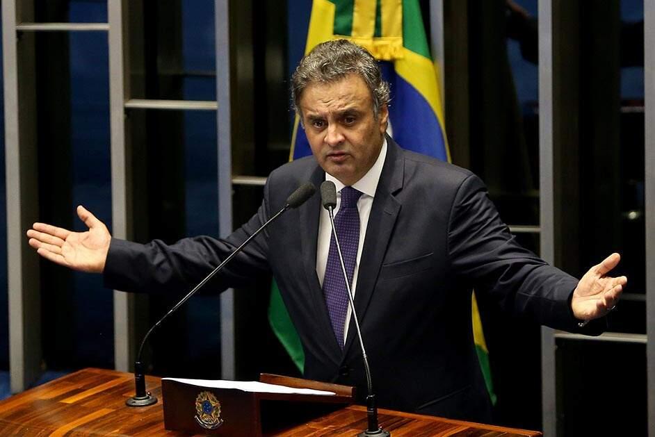 Líder do PSDB, Aécio é alvo de 5 inquéritos