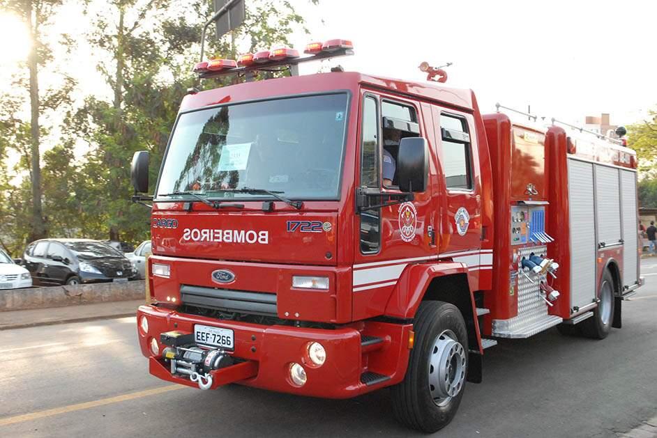 Bombeiros localizam corpo no Ribeirão Quilombo