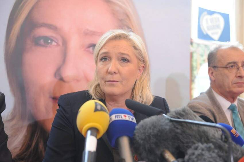 Marine Le Pen propõe novo nome para a Frente Nacional
