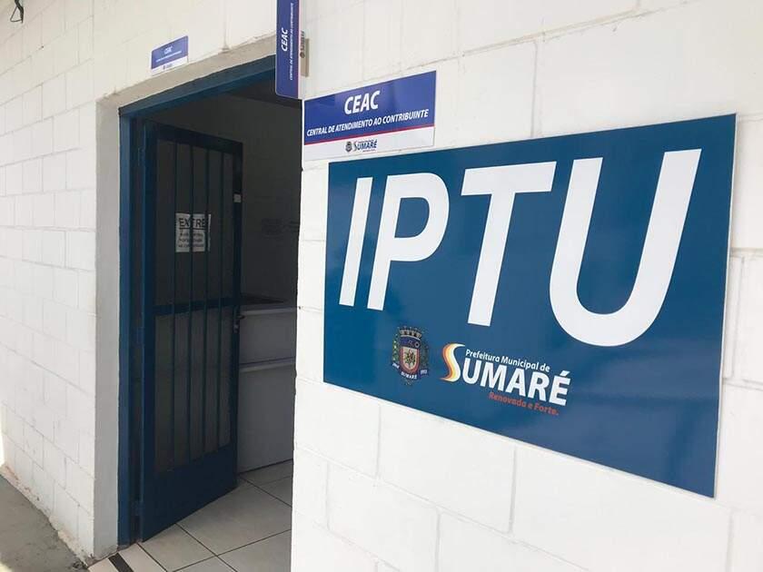 Sumaré prorroga para março vencimento do IPTU 2021
