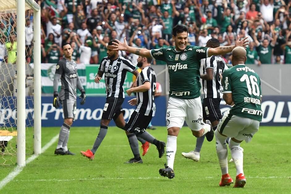 STJD valida os pontos da vitória do Palmeiras diante o Botafogo