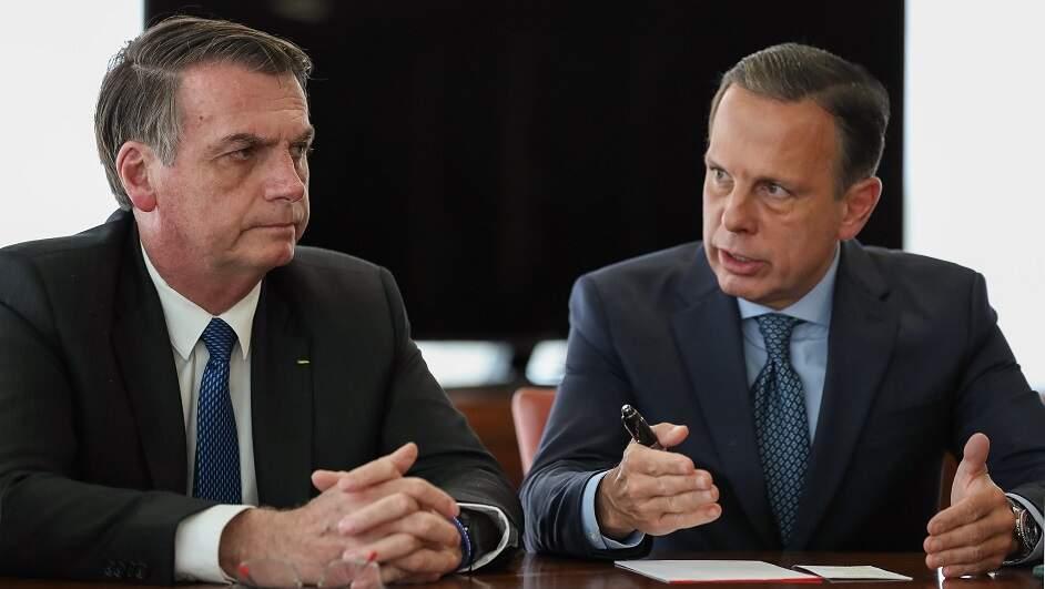 Governador João Doria vê 'afronta' de Bolsonaro com o Estado de São Paulo
