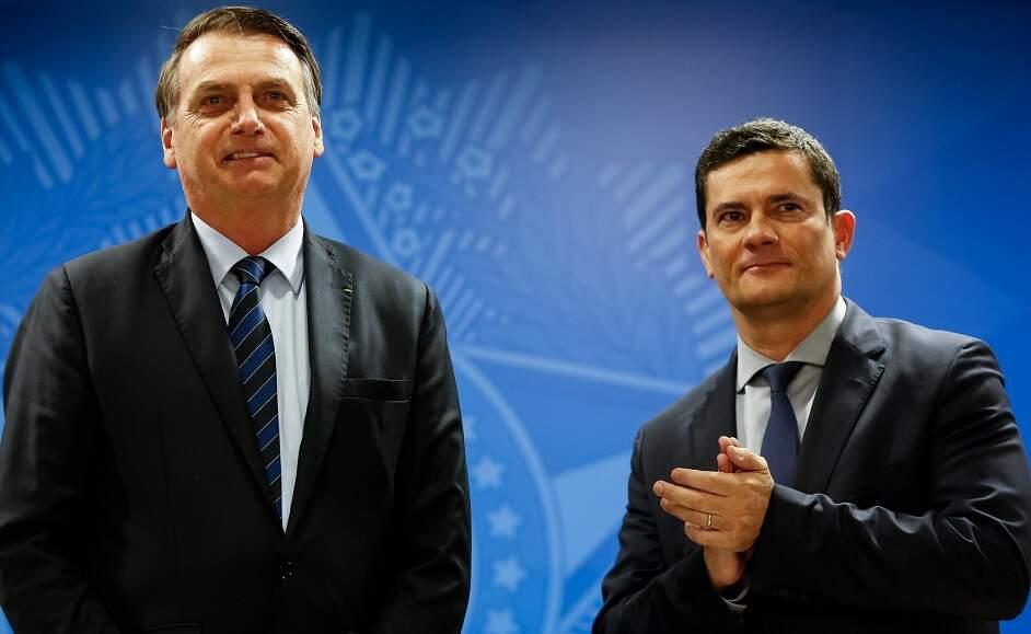 Polícia Federal quer ouvir Bolsonaro sobre denúncias de Moro