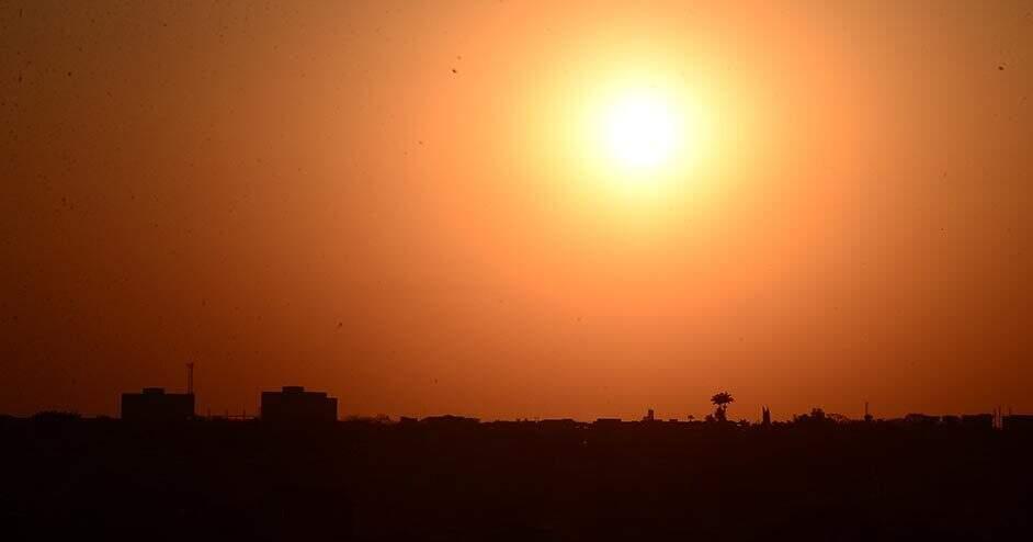 Frente de ar quente eleva temperatura em SP a partir desta segunda-feira