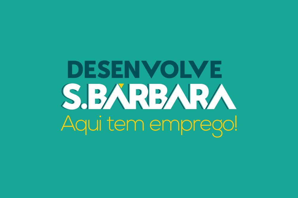 Desenvolve S. Bárbara disponibiliza 64 vagas de emprego