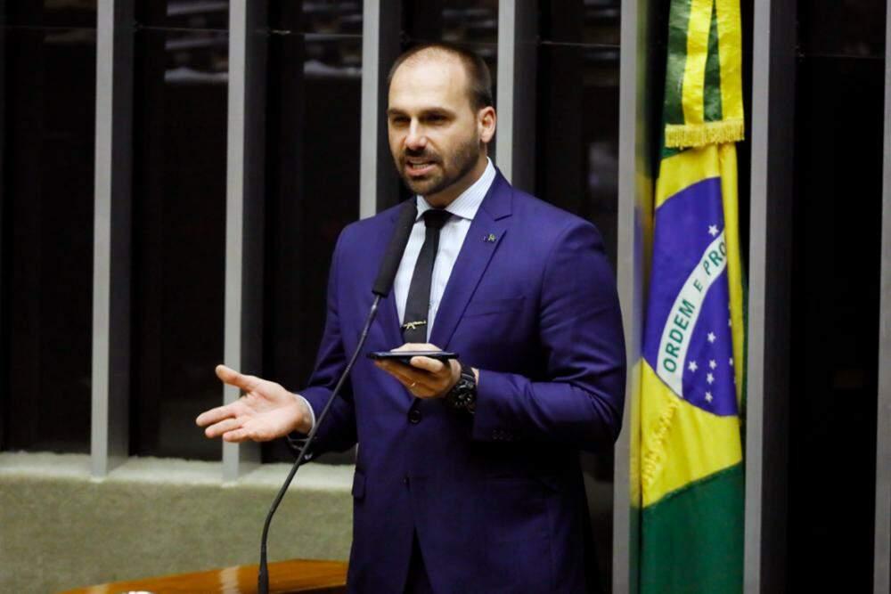 Justiça nega recurso para condenar Eduardo Bolsonaro por publicação sobre Marisa