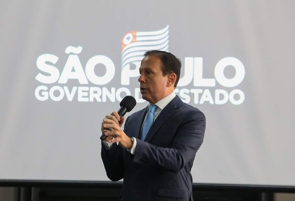 Doria: Vejo com total naturalidade investigação da PGR sobre contratos de SP