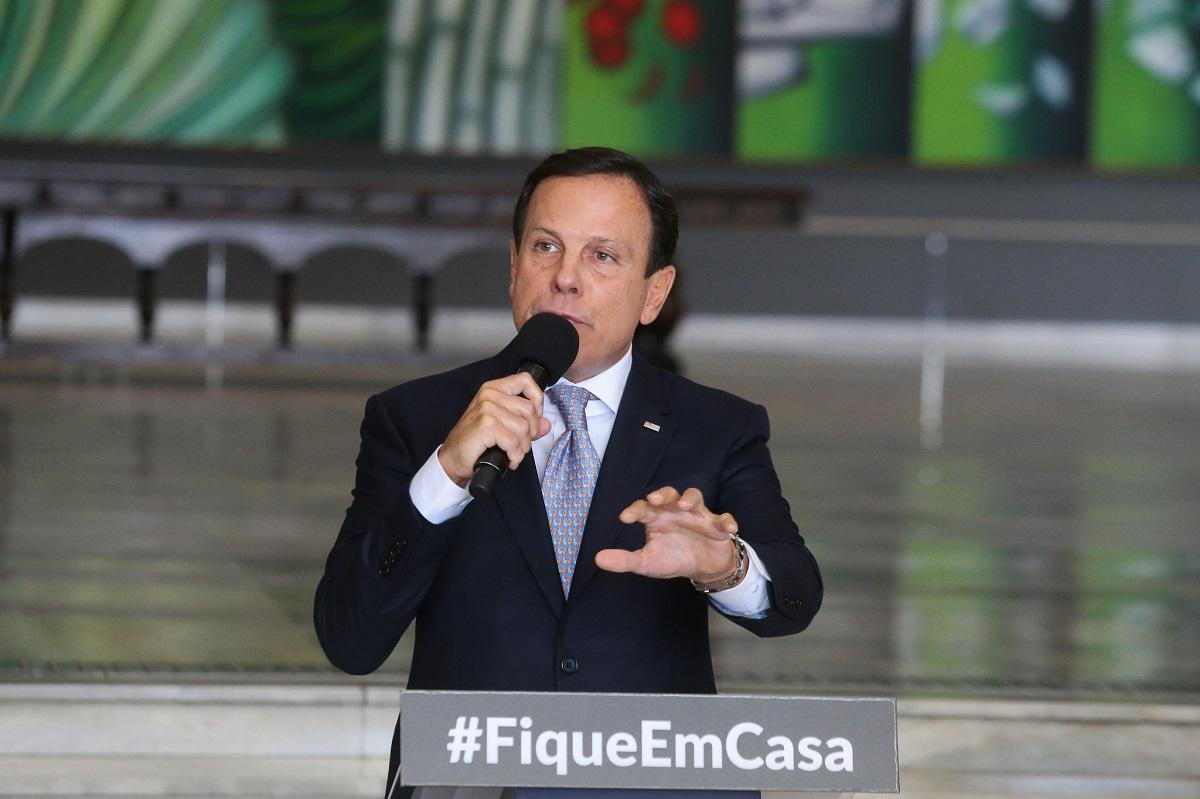 Governador João Doria amplia em quase 70% verba de publicidade