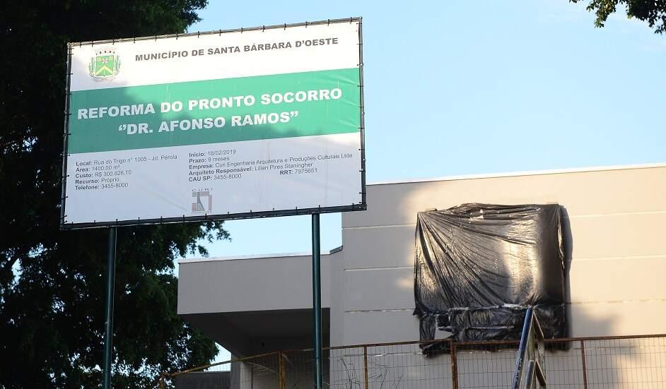 Obra de ampliação do Afonso Ramos transfere atendimento até dia 26