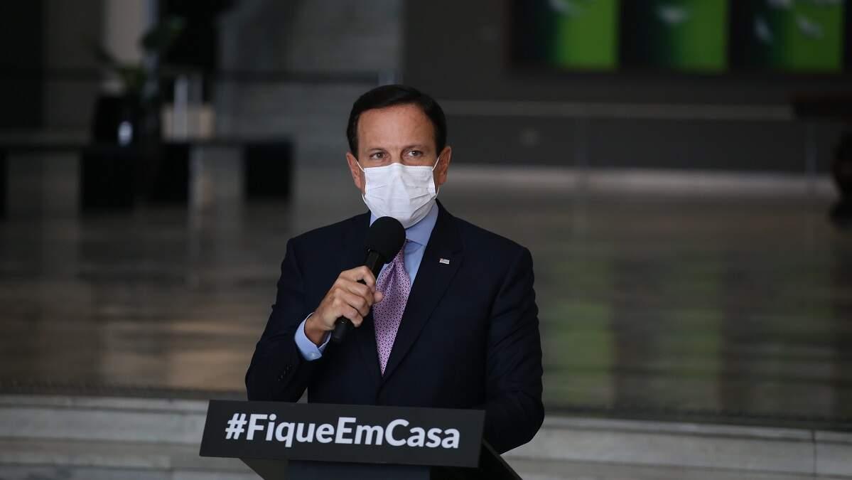 Doria pede diálogo e afirma que governo federal 'é ausente'