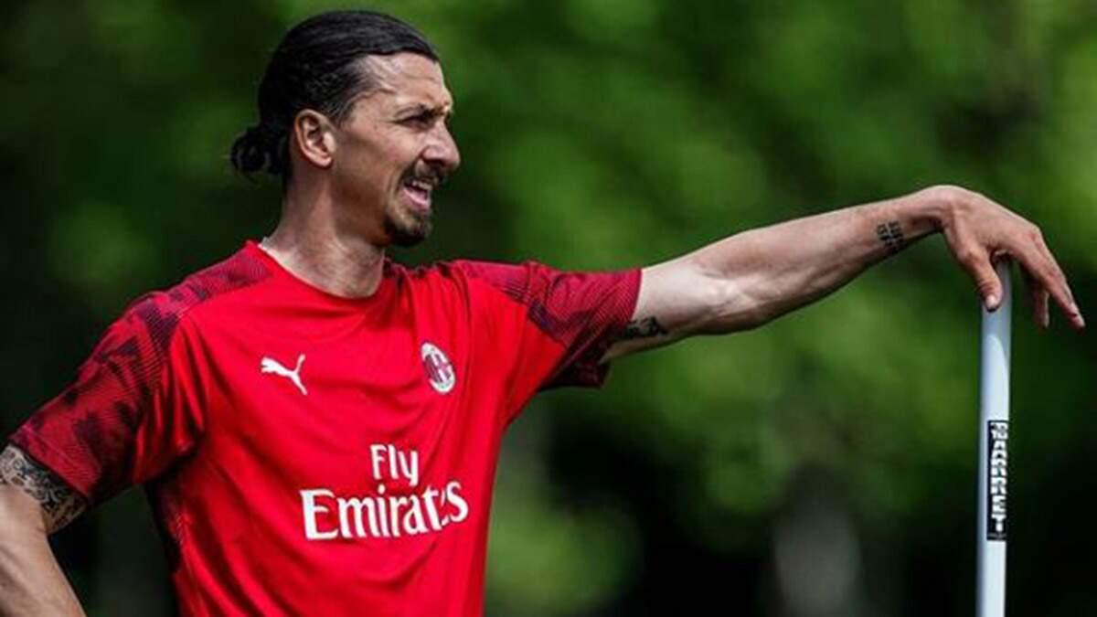 Milan confirma lesão de Ibrahimovic