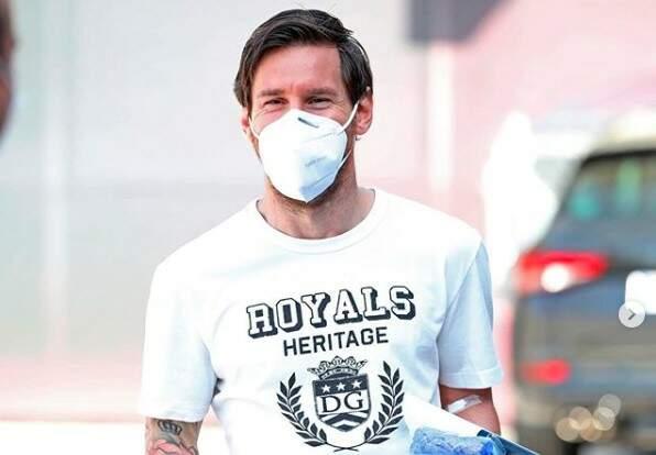 Messi reflete sobre a pandemia: 'O futebol, como a vida, não voltará a ser igual'