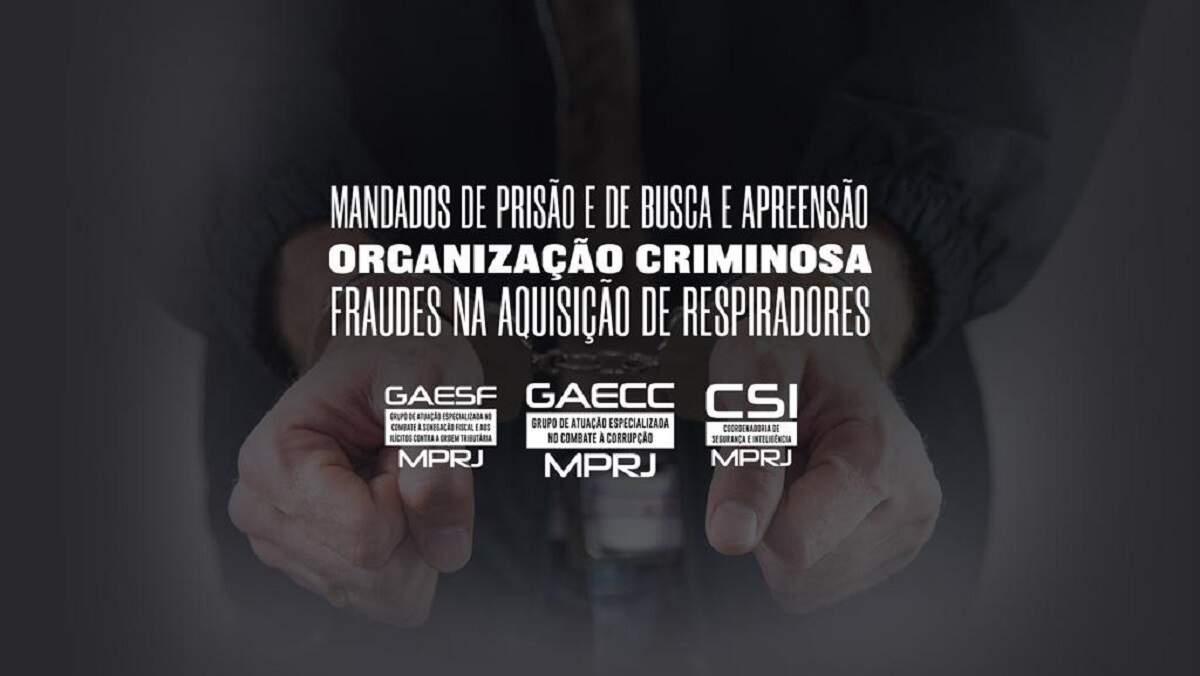 TCE diz que Estado do Rio pagou R$ 123 mi a mais por respiradores