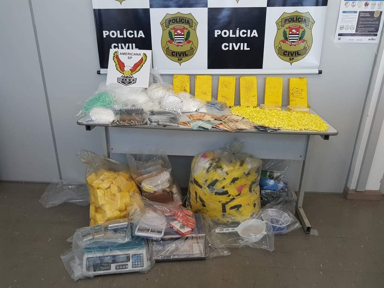 Cinco são acusados por tráfico no bairro Jardim das Flores