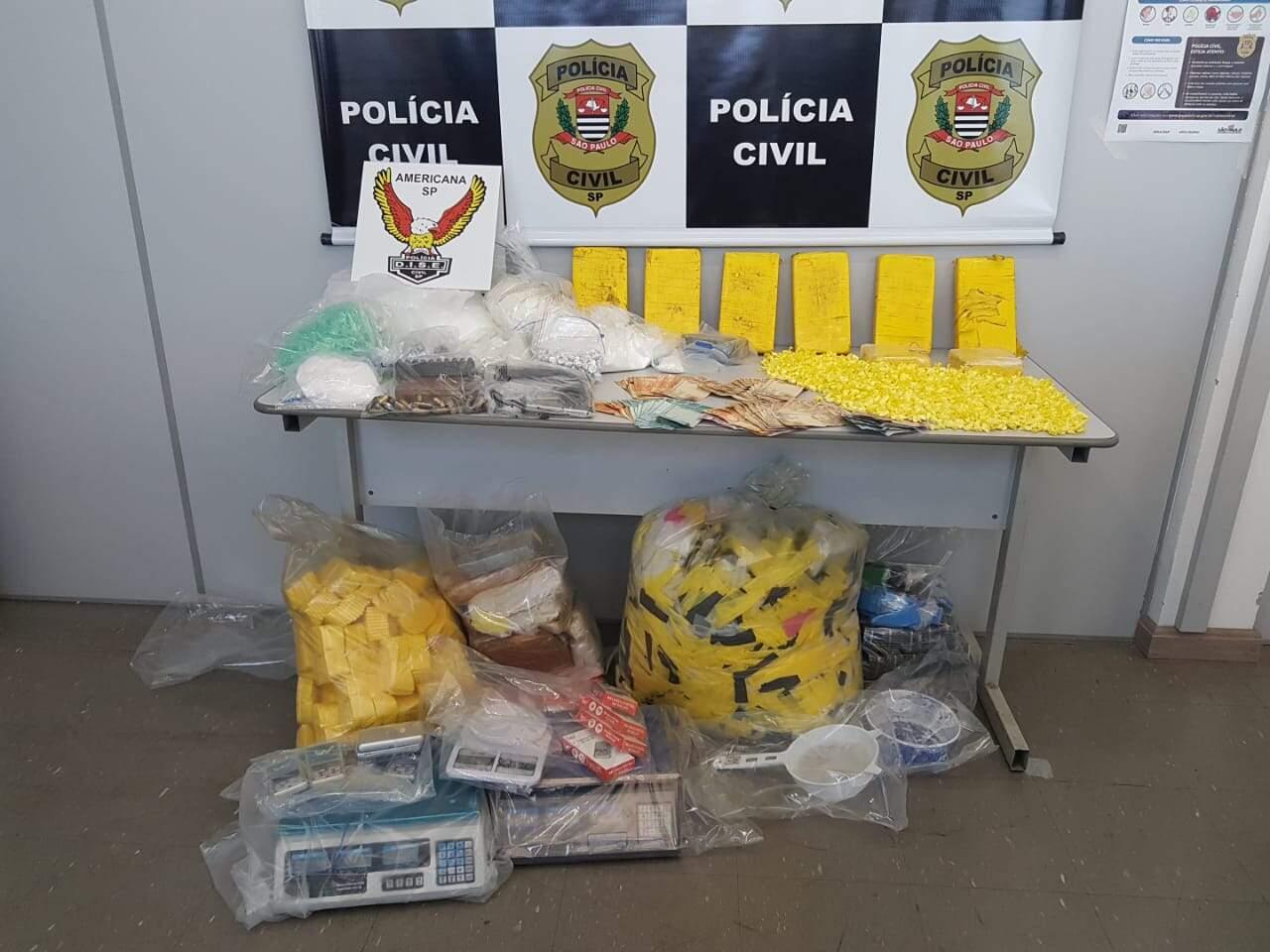 Dise de Americana prende dois e apreende 17kg de cocaína