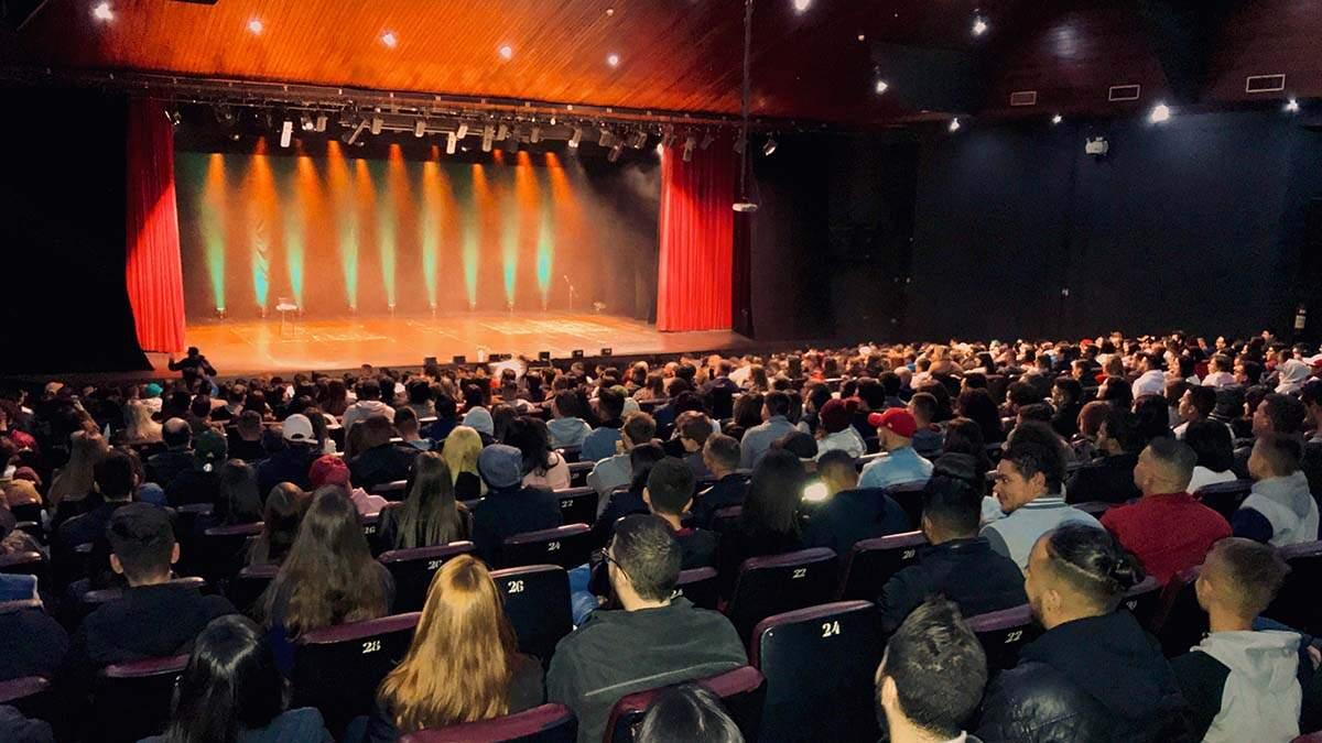 Palco das artes de Santa Bárbara, Teatro Manoel Lyra completa 25 anos