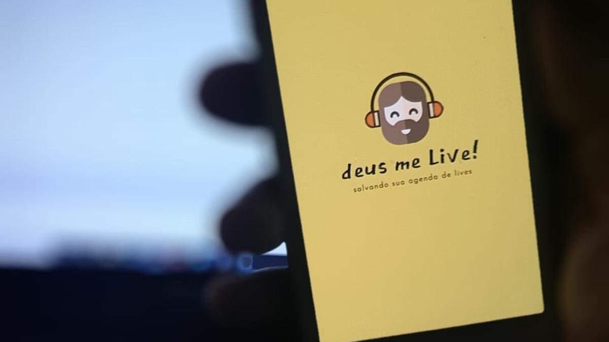 Morador de Piracicaba desenvolve app com agenda de lives