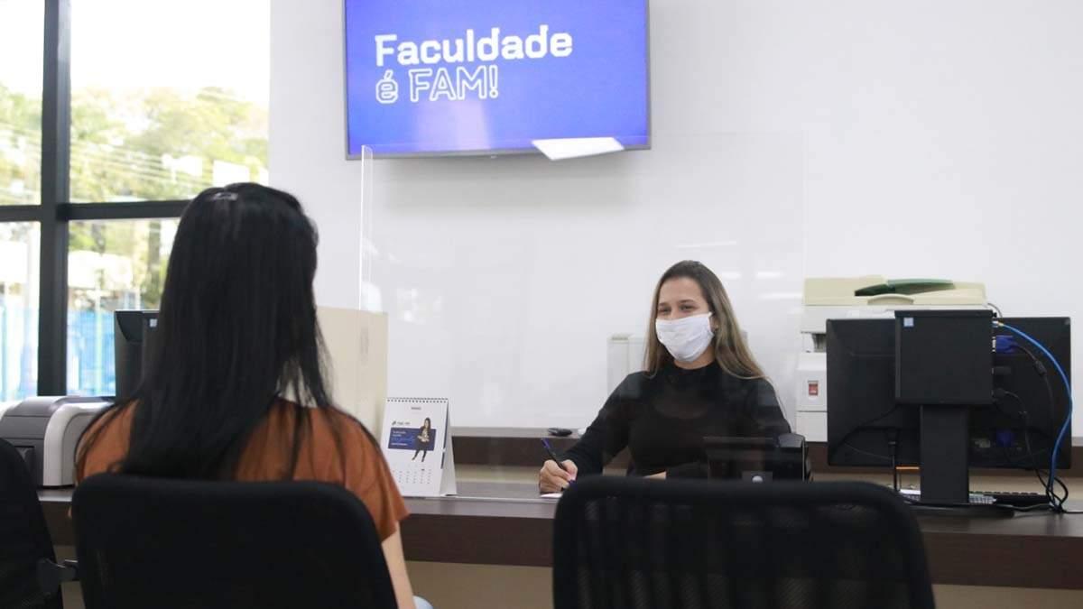 FAM oferece parcelamento de mensalidades