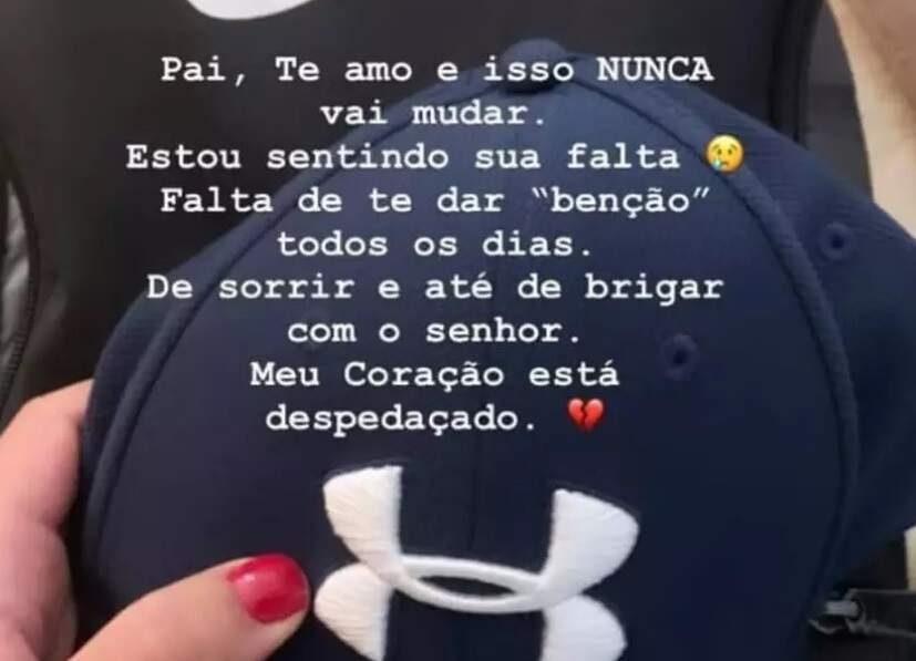 Filha de Queiroz faz homenagem em rede social dois dias após prisão do pai