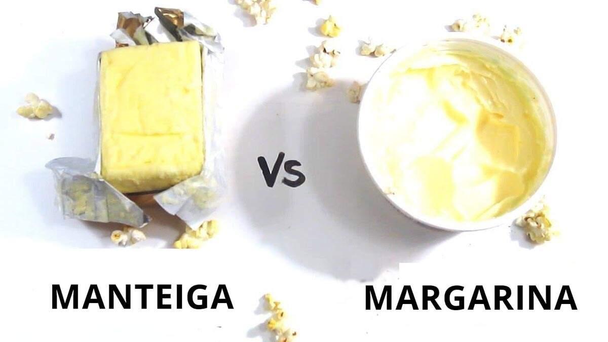 Diferenças entre margarina e manteiga