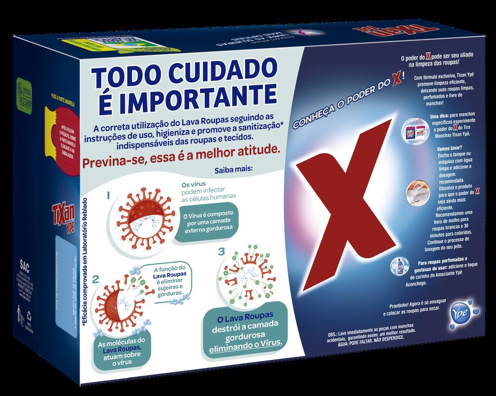 Justiça suspende venda de sabão em pó que fabricante afirma 'eliminar vírus'