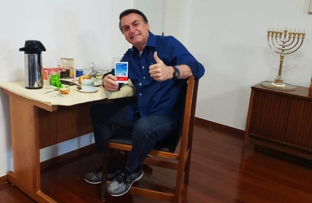 PDT envia ao Supremo notícia-crime contra Bolsonaro por prescrição de cloroquina