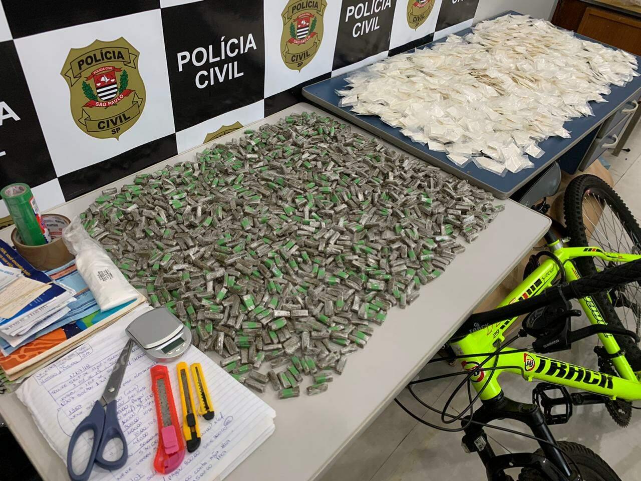 DIG de Americana estoura depósito de drogas na Vila Mathiensen