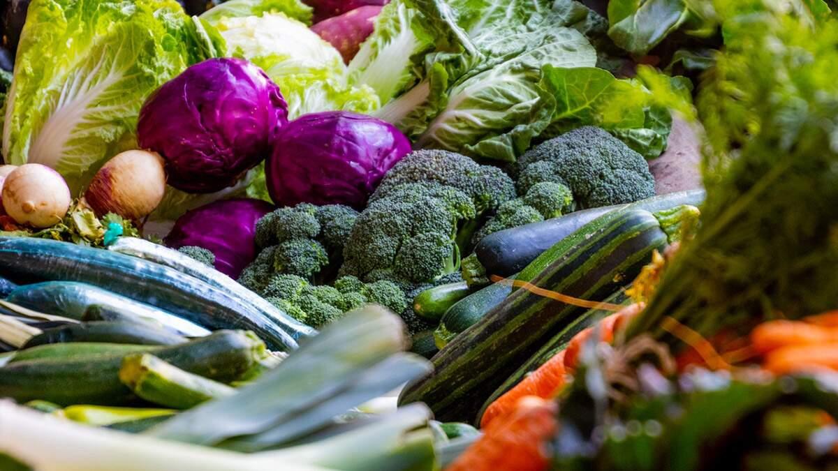 Higienização de frutas, verduras e legumes