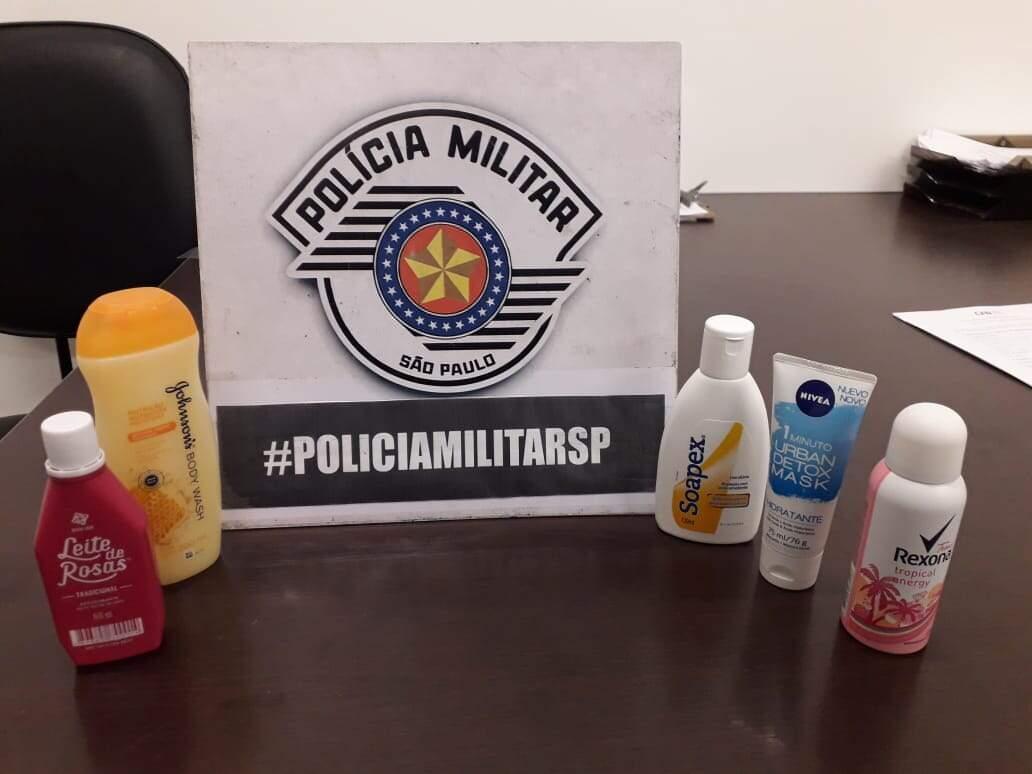 Homem é preso após furtar produtos de higiene pessoal em Americana