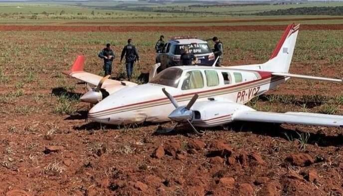 FAB intercepta aviões com mais de 1,1 tonelada de droga no Mato Grosso do Sul