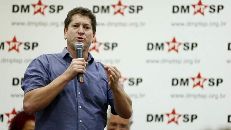 'Não é hora de experimentos', diz Tatto sobre voto útil em Boulos