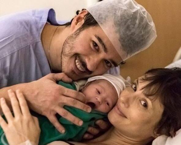 Nasce primeiro filho de Marcos Veras e Rosanne Mulholland