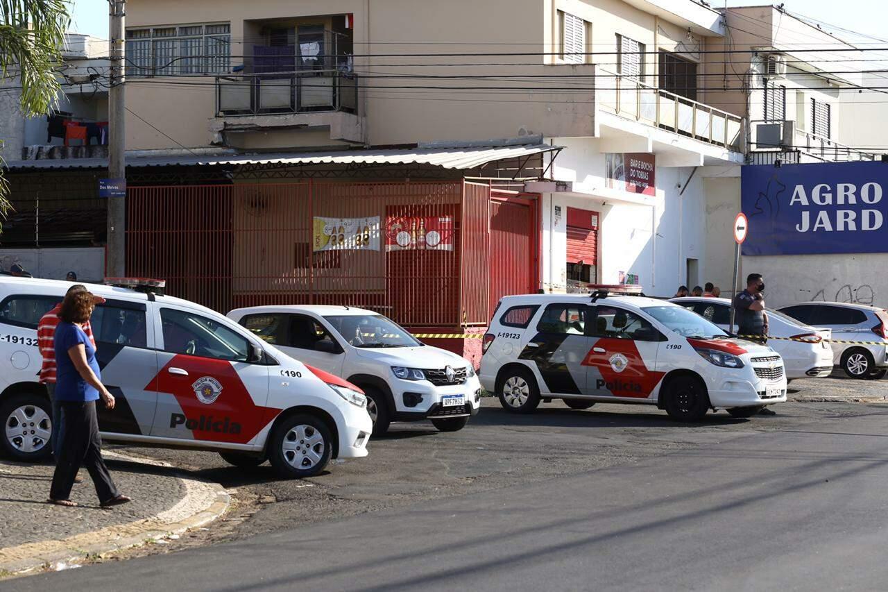 Homem é executado a tiros em bar no Cidade Jardim; outras duas pessoas ficaram feridas
