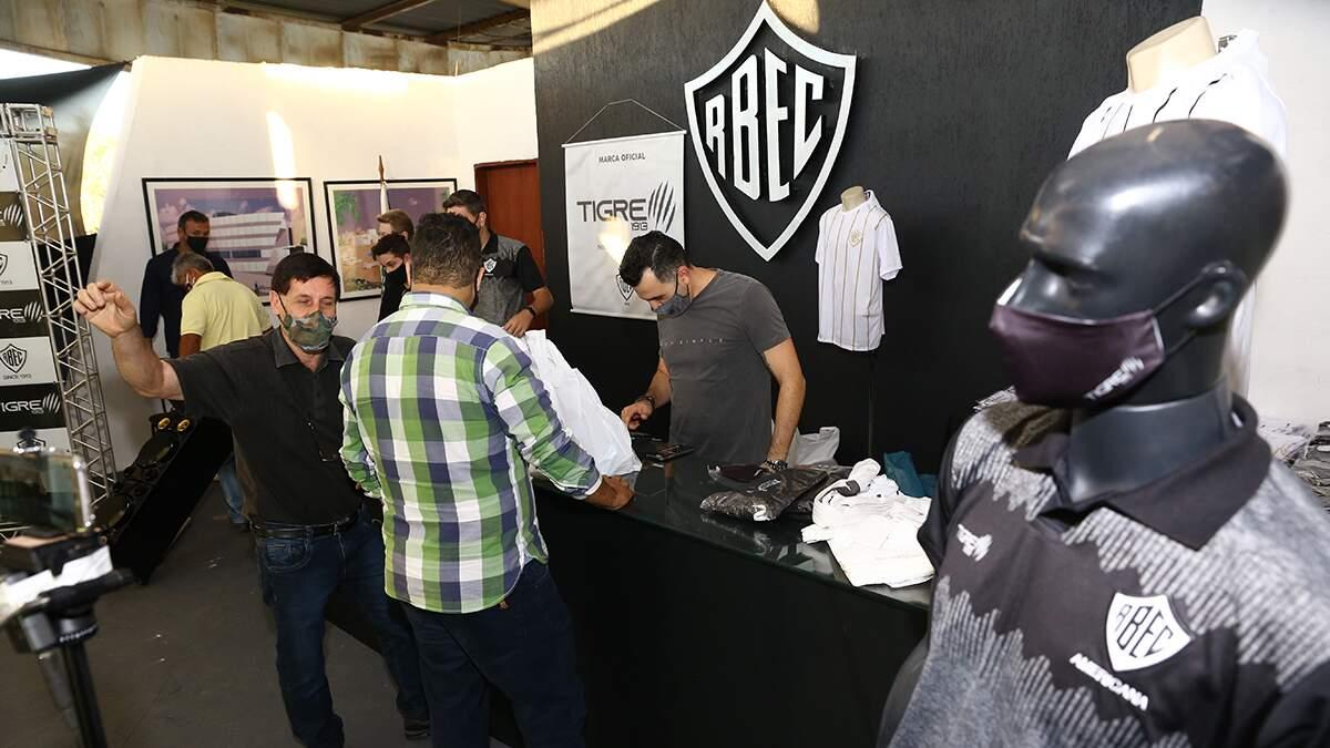 Rio Branco inaugura nova loja oficial