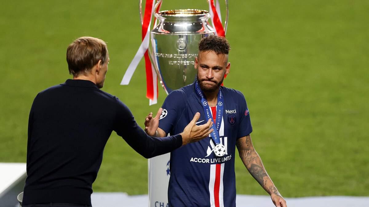 Mesmo com derrota, Neymar celebra a melhor Liga dos Campeões com o PSG