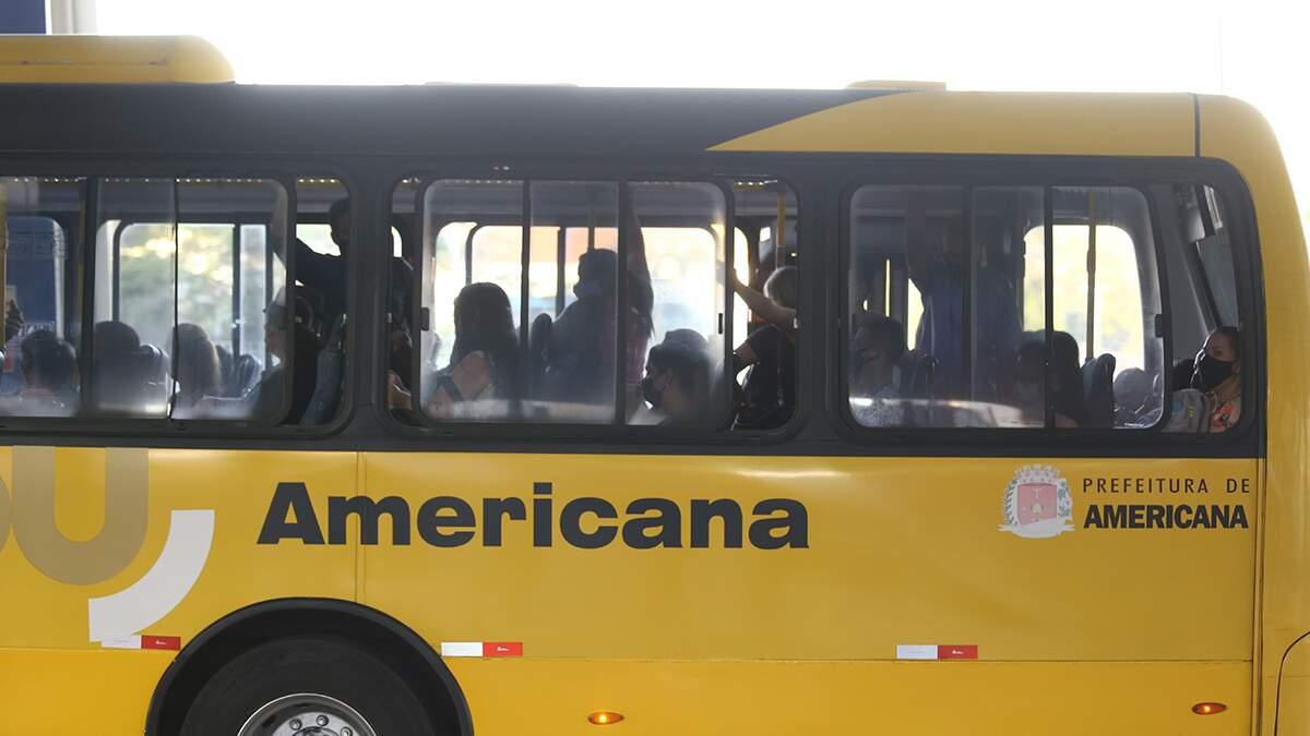 Justiça concede liminar e proíbe passageiros em pé nos ônibus de Americana
