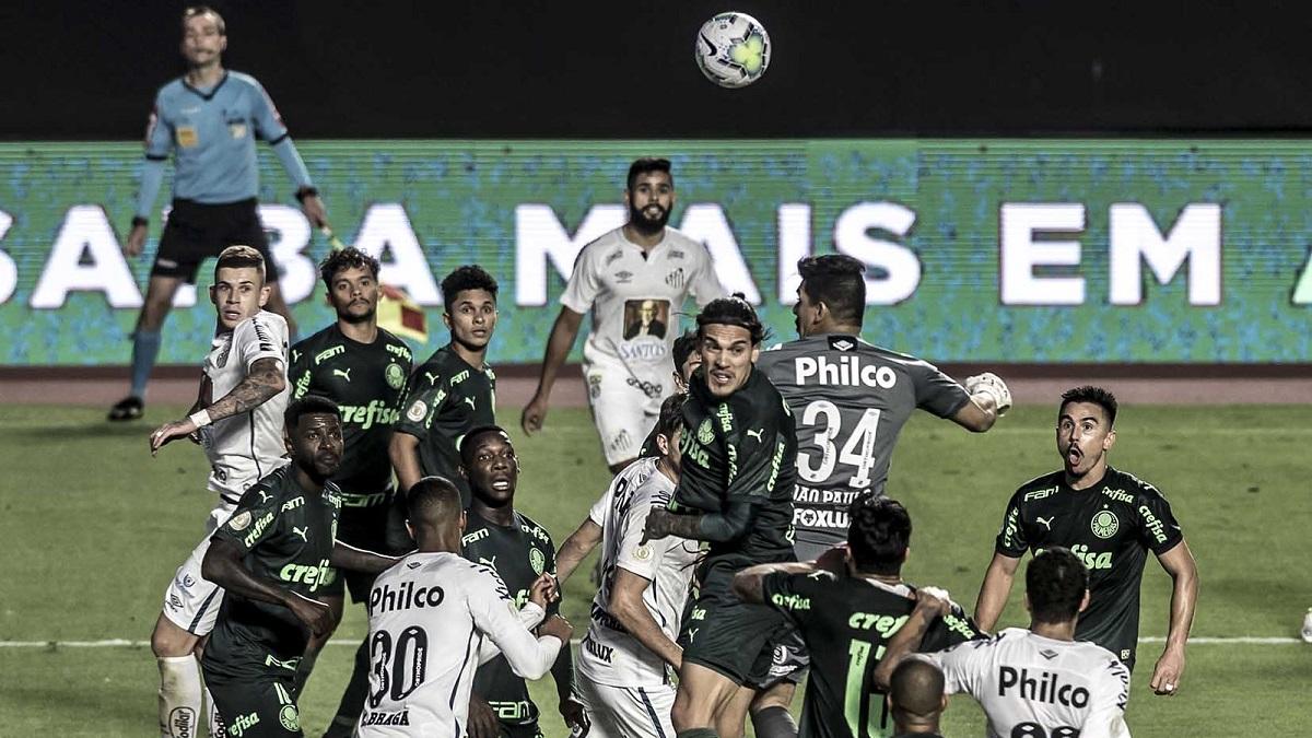 CBF antecipa clássico entre Santos e Palmeiras de domingo para sábado