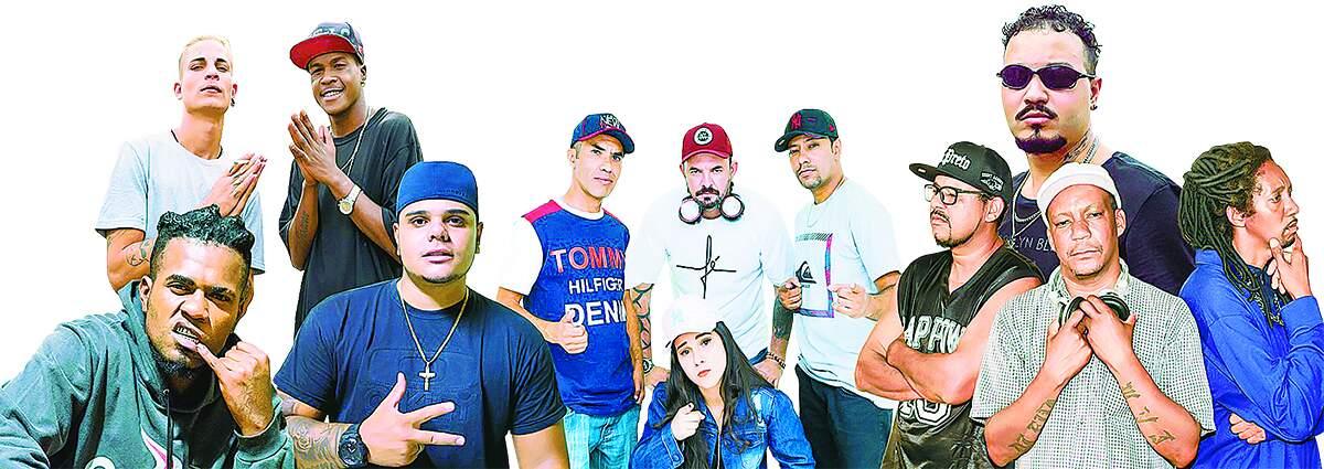Trabalho reúne talentos do rap na região