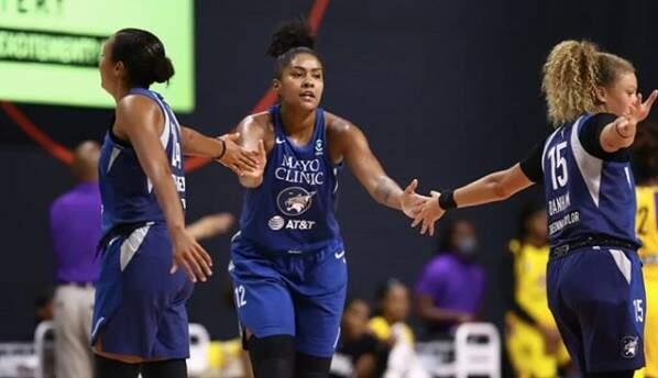 Derrota do Minnesota Lynx na WNBA não desanima Damiris