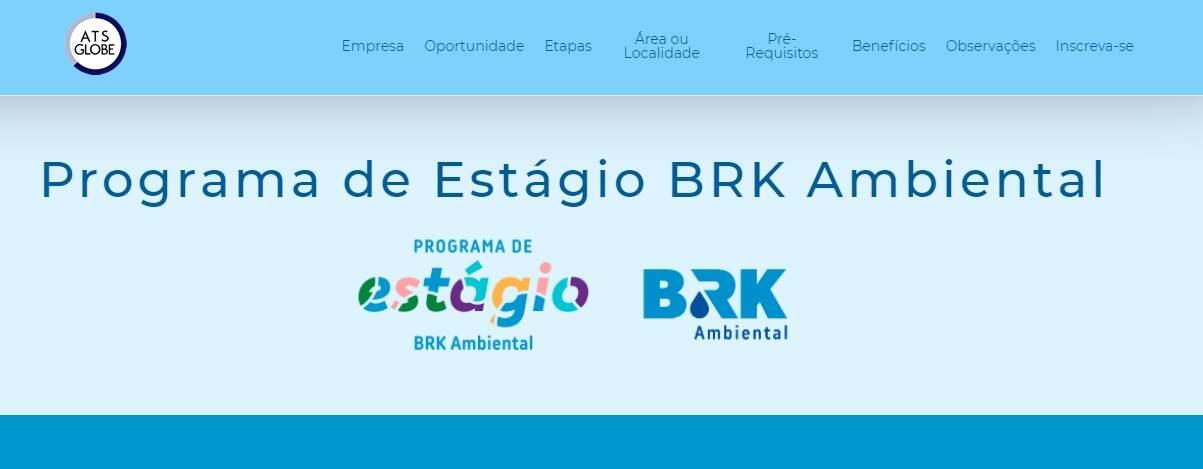 Com vaga em Sumaré, BRK abre inscrições para estágio