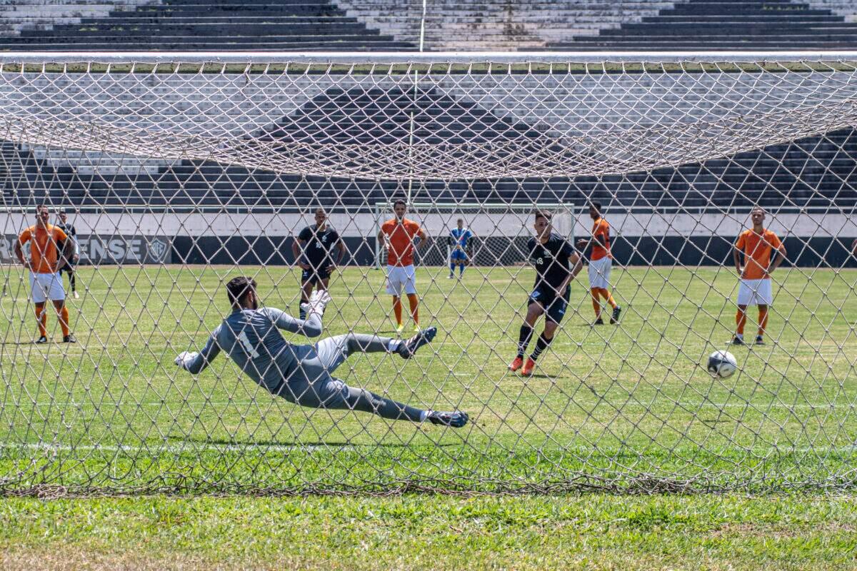 Em jogo-treino, Rio Branco empata com o Atibaia pelo placar de 1 a 1