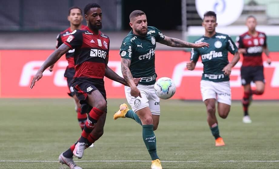 Após batalha jurídica, Palmeiras e Fla empatam em 1 a 1