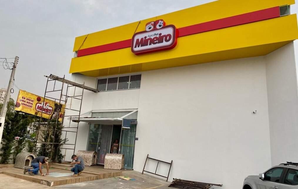 Agropet Mineiro inaugurará hoje uma unidade em Nova Odessa