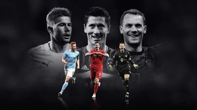 Uefa revela 3 finalistas ao prêmio de melhor jogador da Europa; Neymar fica em 4º