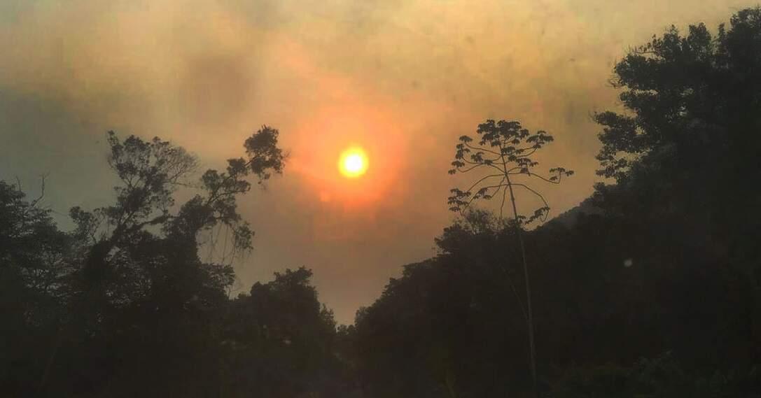 Fumaça de queimadas no Pantanal se desloca para países da América do Sul