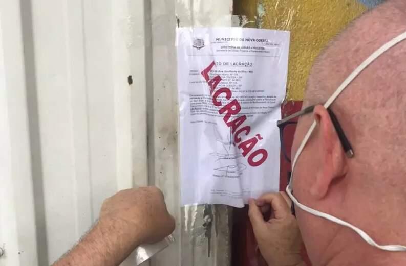 Bar que promovia aglomerações é lacrado em Nova Odessa