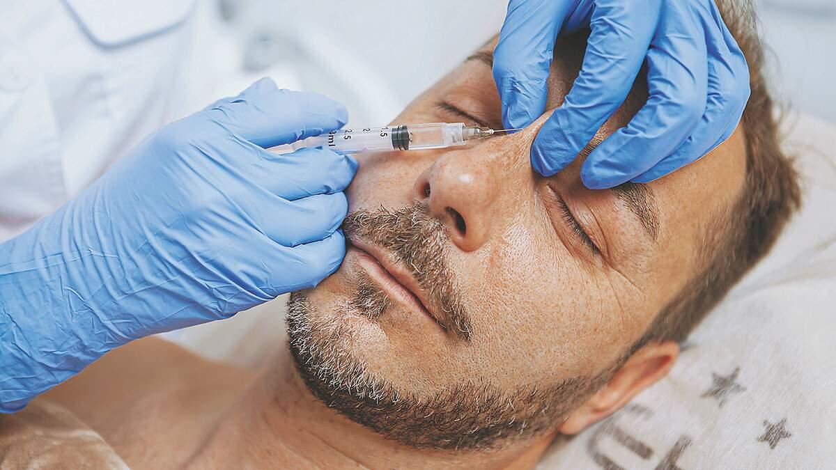 Rejuvenescimento facial é alternativa para homens