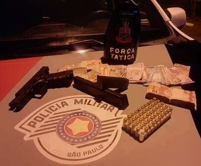 Homem é preso por porte ilegal de arma de fogo em Hortolândia