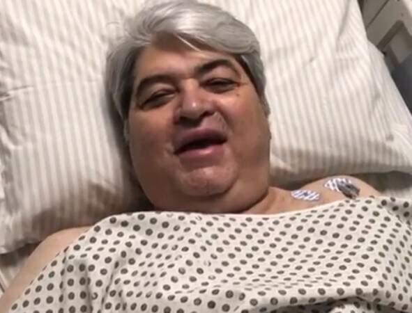 Datena é operado após sentir dores no peito